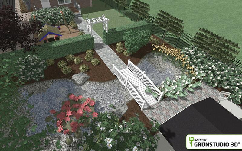 Grünstudio 3D EHL CityDrän-Pflaster