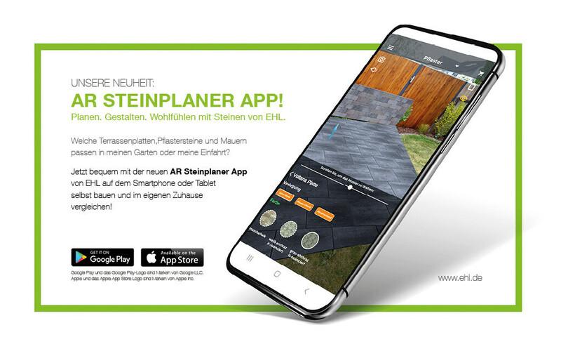 AR Steinplaner App von EHL Launch