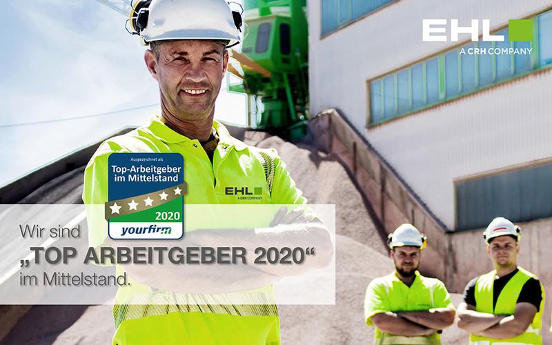 EHL ist Top Arbeitgeber 2020