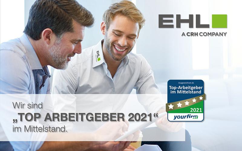 EHL ist Top Arbeitgeber 2021