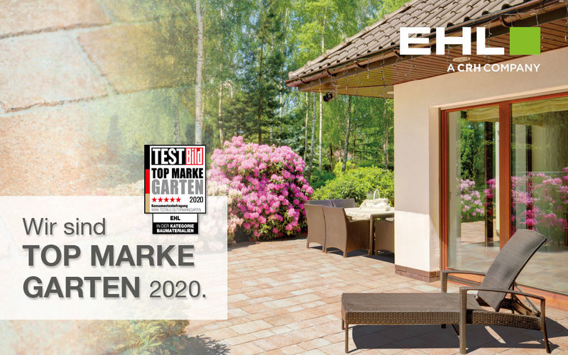 EHL Top Marke Garten 2020 Baustoffmaterialien