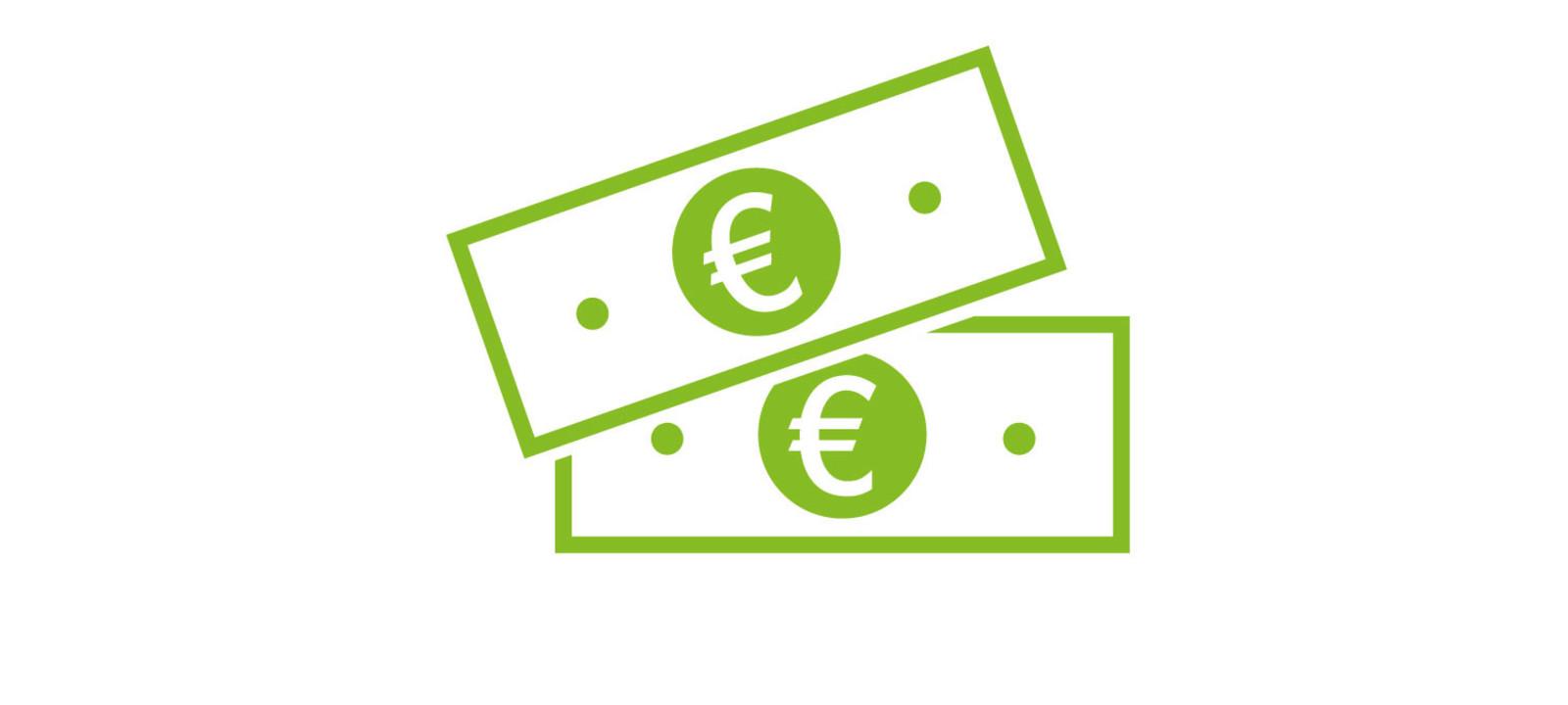 Geld Piktogramm