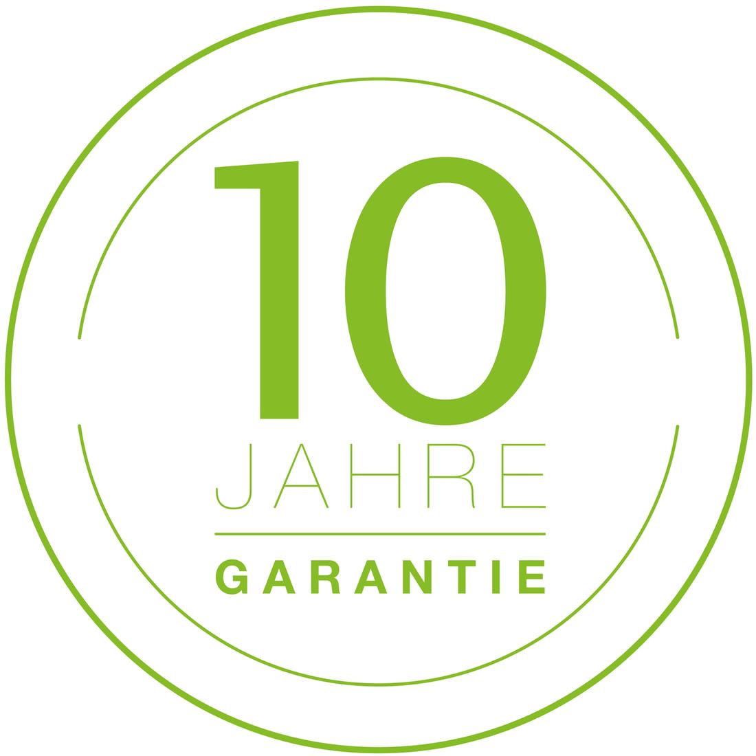 EHL Garantie 10 Jahre