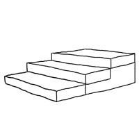 Stufen Skizze