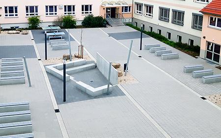Schulhof neu Gemeinschaftsschule