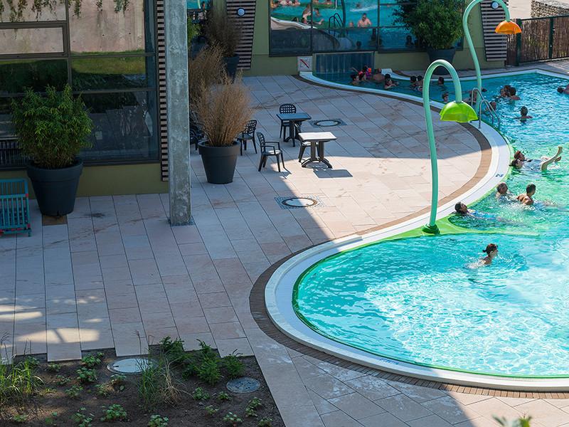 Bostalsee Centerpark Pool Citypflaster XXL