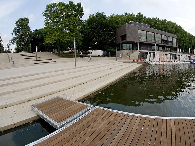 Münster Aasee Steg Cityplan