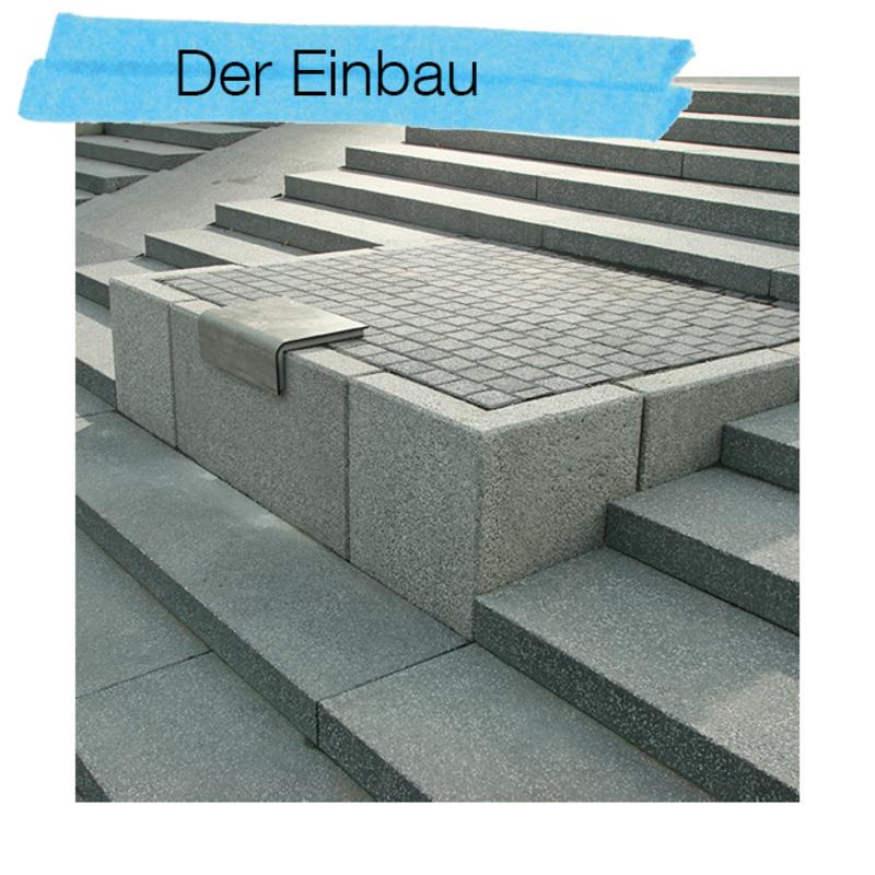 Der Einbau Ihrer EHL Stufenanlage