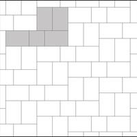 Verlegebeispiel 628 Terrassenplatten